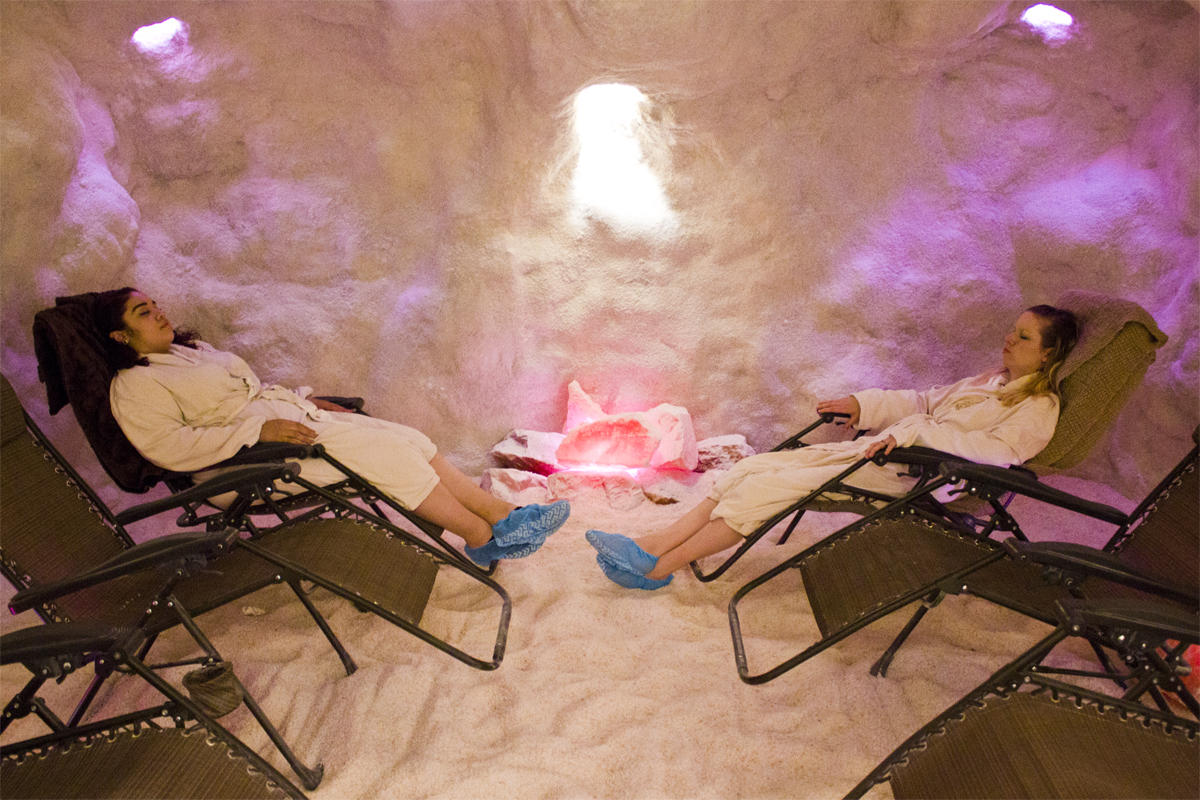 The Salt Sanctuary Cave - The Spa at Traditions